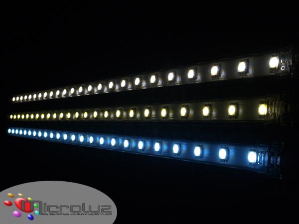 Luz colores led