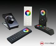 Controlador RGBW con mando remoto