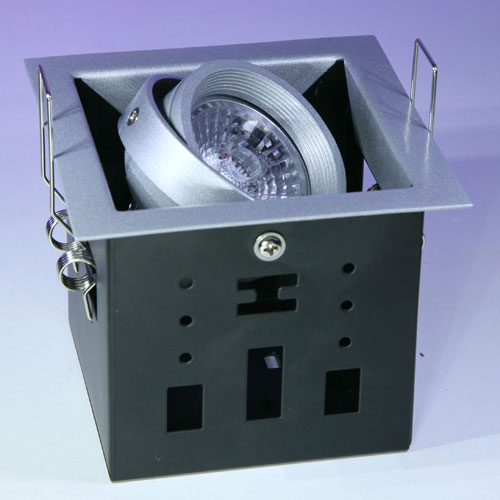 downlight led blanco orientable 12w