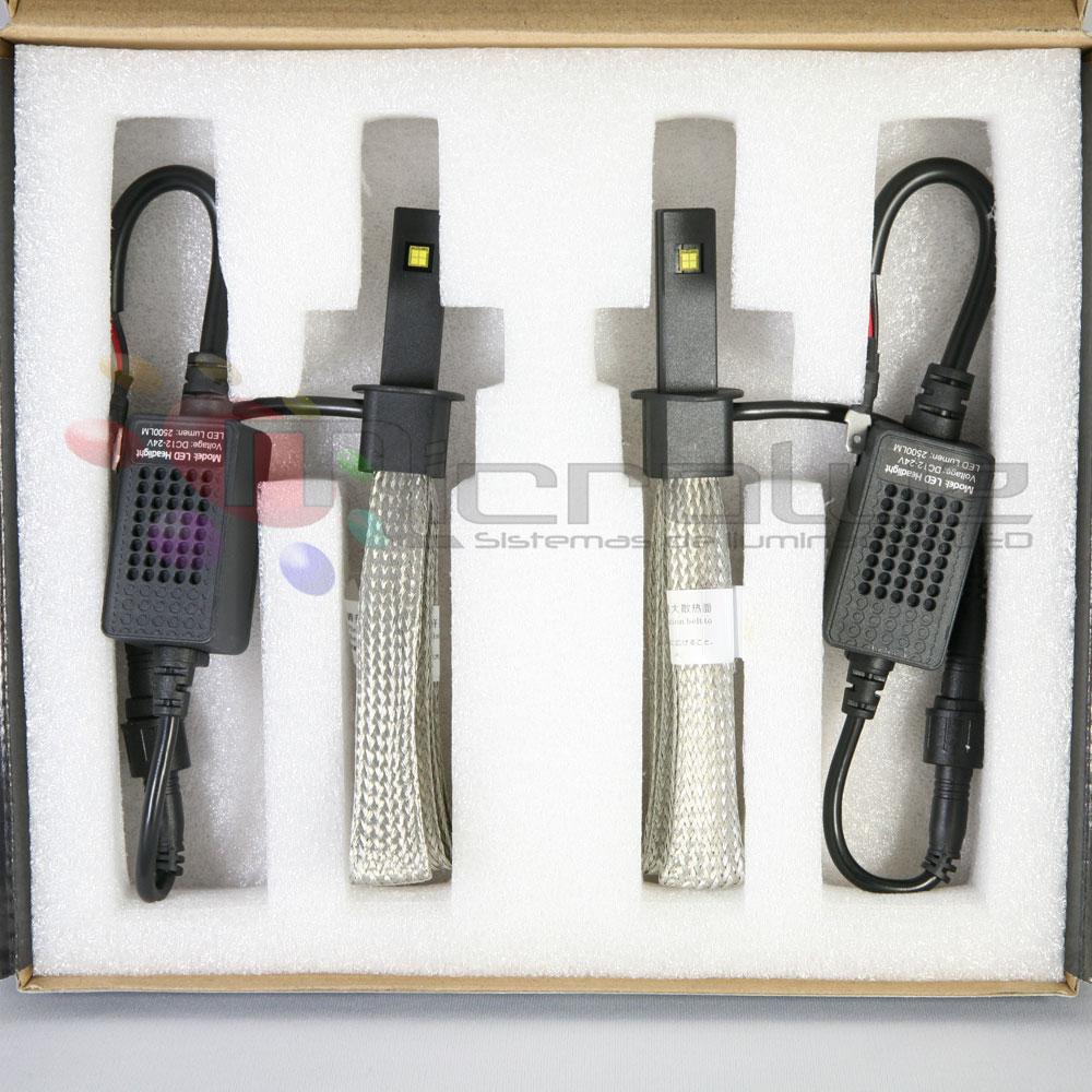 LED H1 cortas y largas