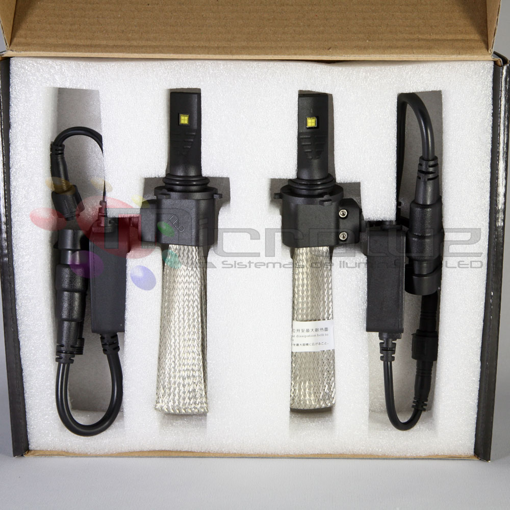 LED H8 cortas y largas
