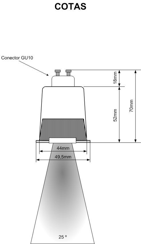 bombilla led rgb gu10 mando a distancia
