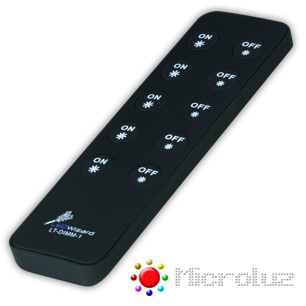 controlador dimer 5 zonas led Microluz