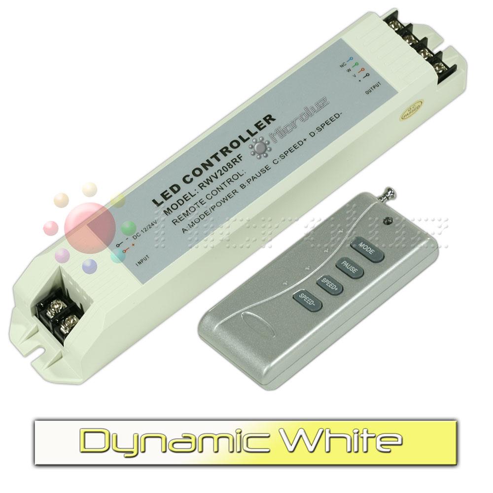 controlador led blanco dinamico de Microluz