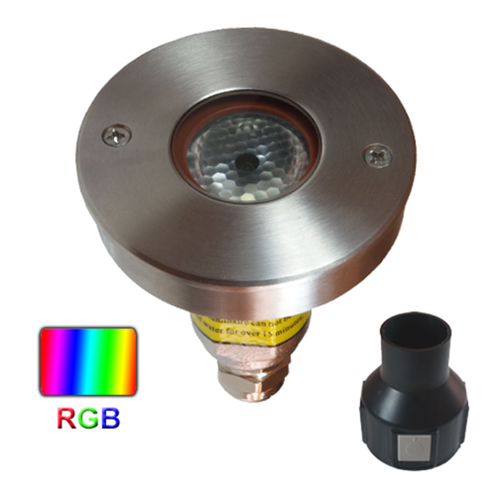 empotrable led rgb 3w de Microluz