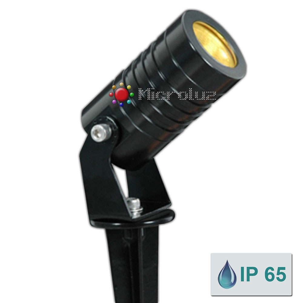 pincho led 3w blanco calido Microluz