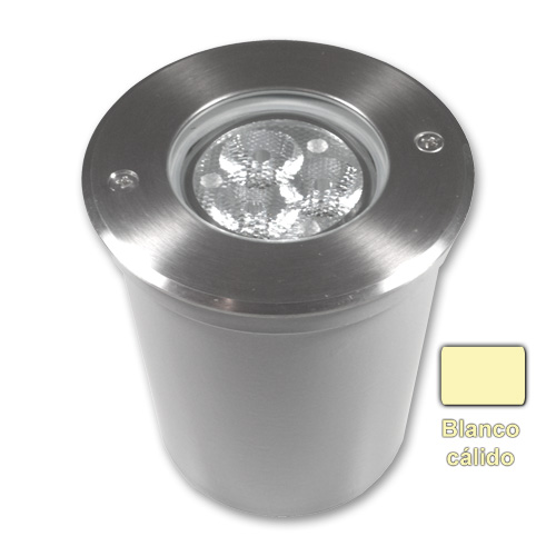 empotrable led 3x2w blanco calido de Microluz