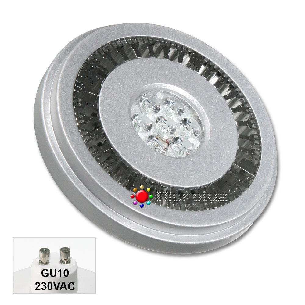bombilla led qr-111 gu10 12w blanco calido