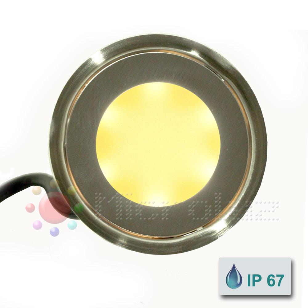 empotrable led blanco calido de Microluz
