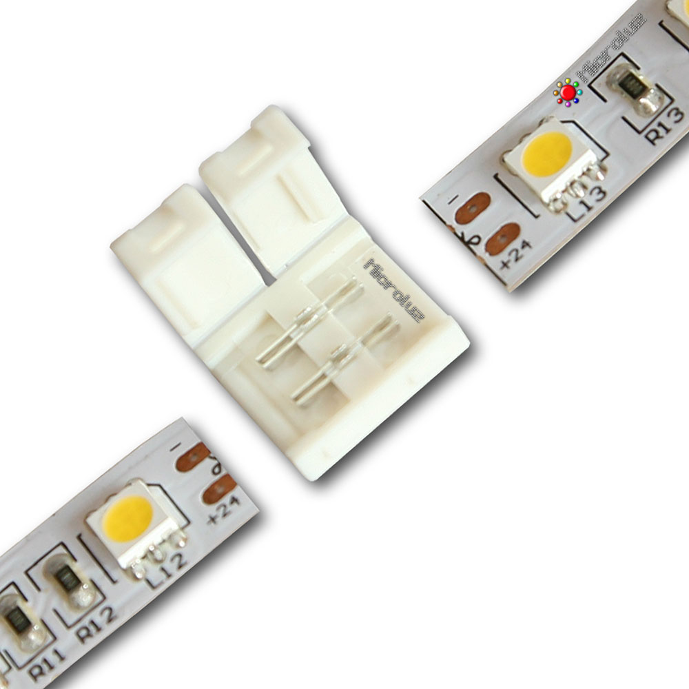conector empalme tira de led 12mm