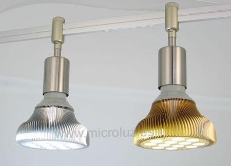 lampara led 15w blanco puro