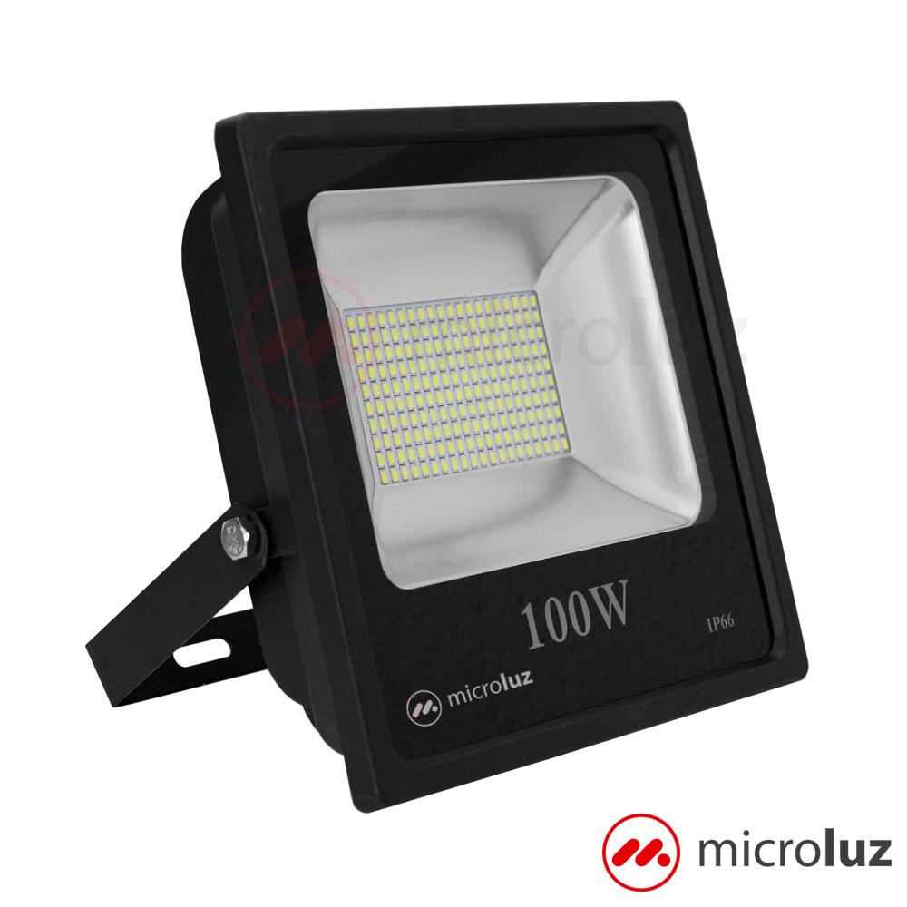 Proyector LED SMD 100W Blanco Frío