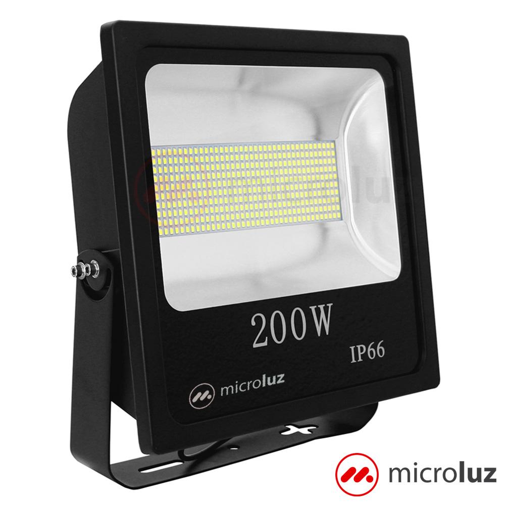 Proyector LED SMD 200W Blanco Frío
