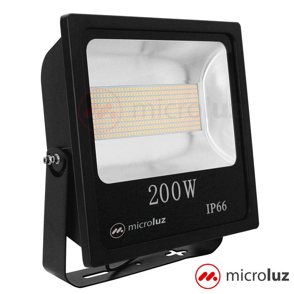 Proyector LED SMD 200W Blanco Cálido