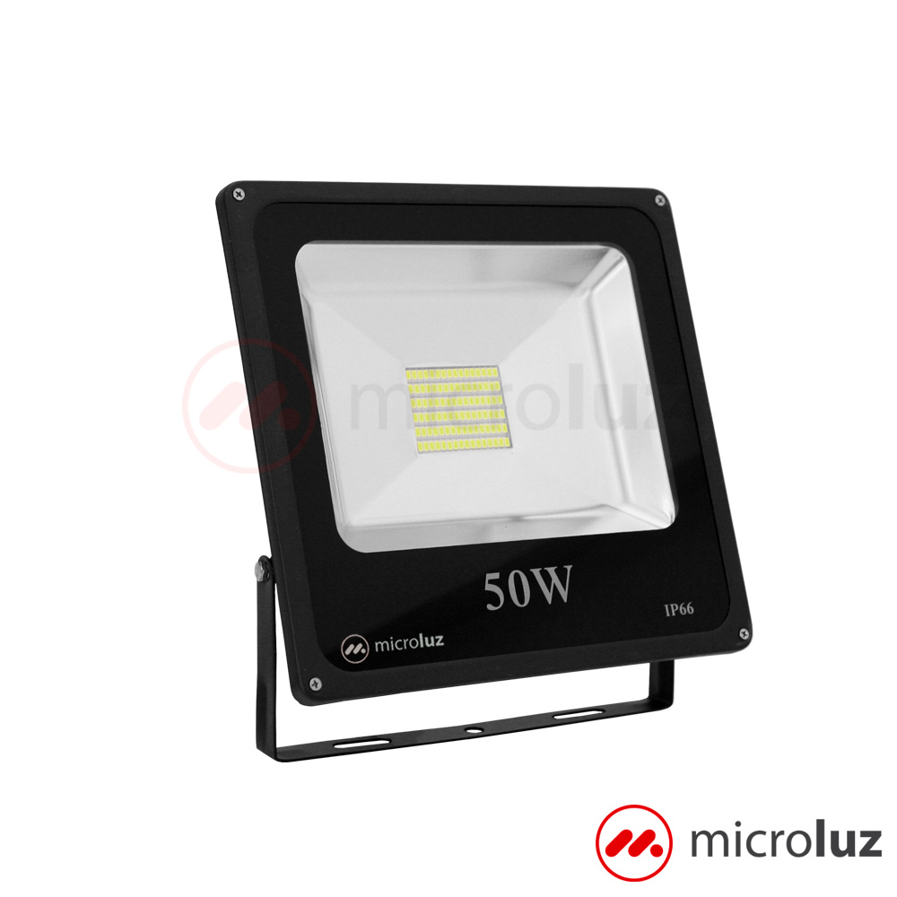Proyector LED SMD 50W Blanco Frío