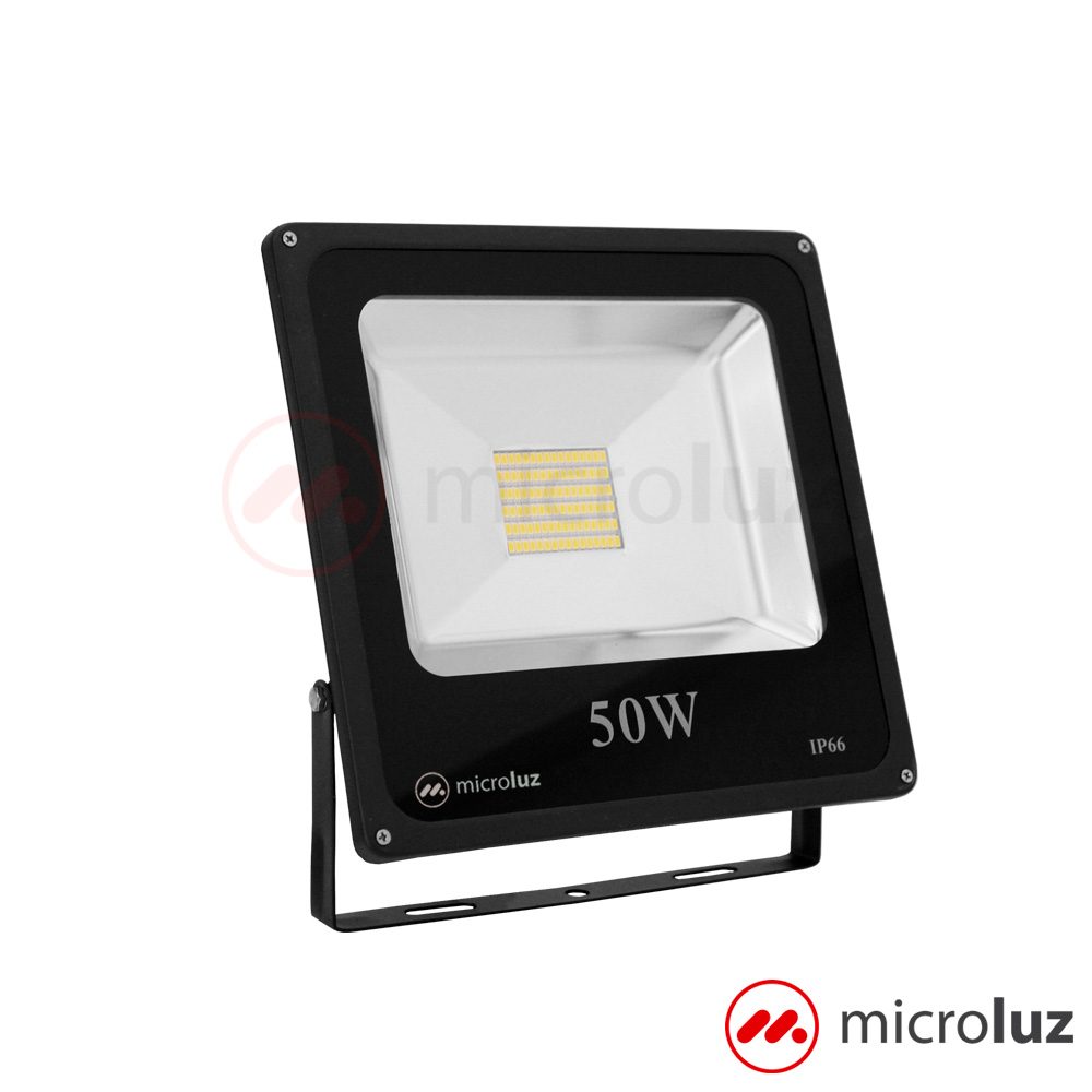 Proyector LED SMD 50W Blanco Cálido