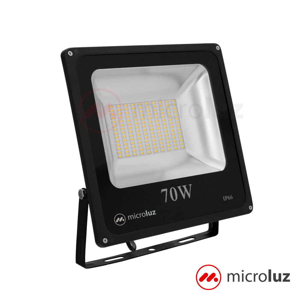Proyector LED SMD 70W Blanco Cálido