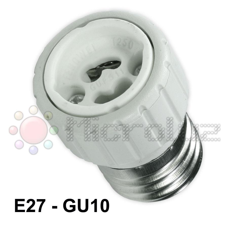 Conversor de rosca E27 a GU10
