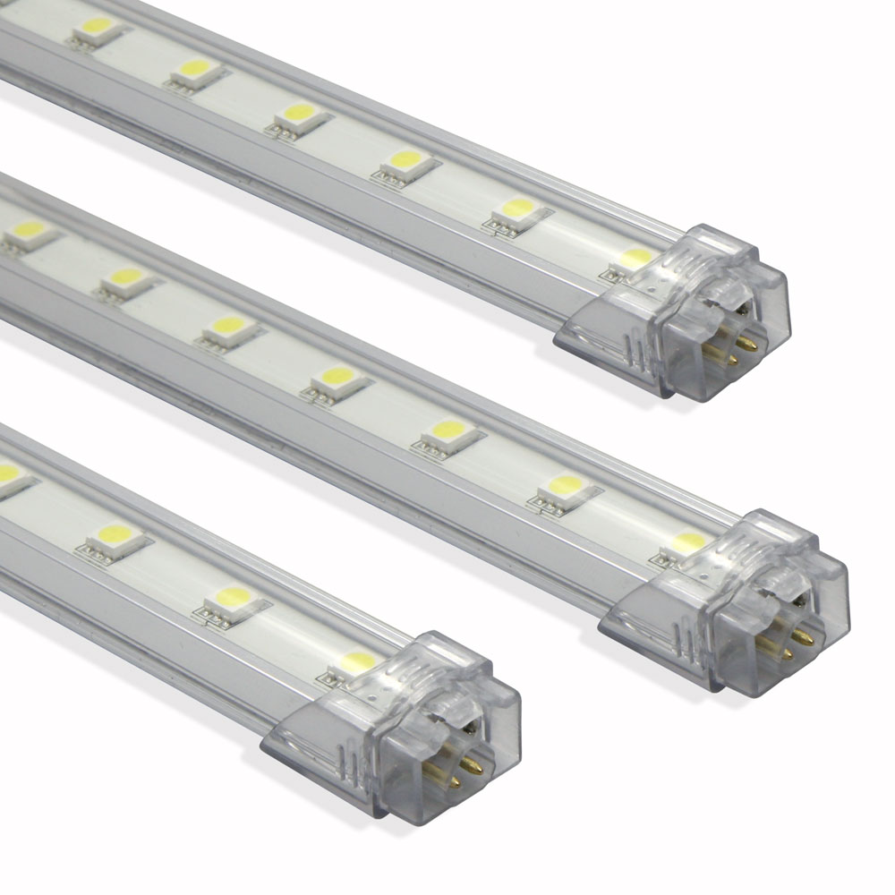 Barra LED Aluminio Quick Fix Blanco Cálido 50cm 6W