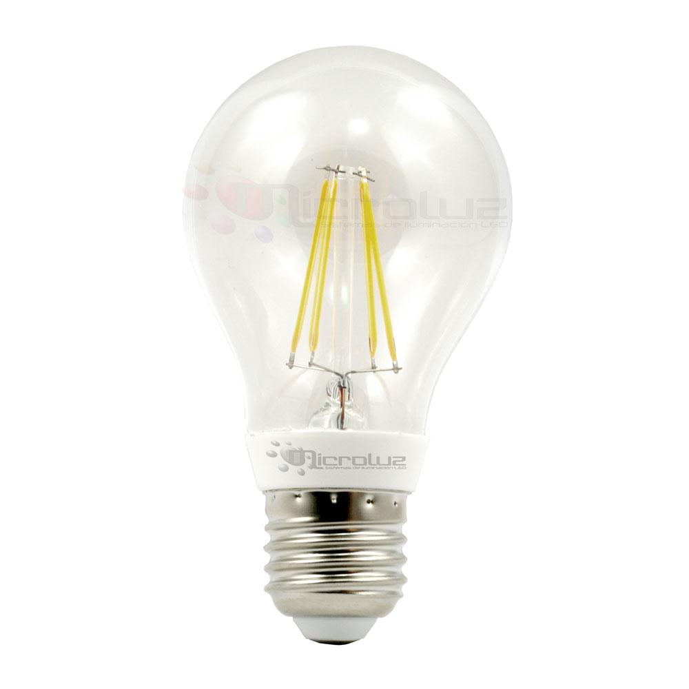 Bombilla filamento LED E27 6W