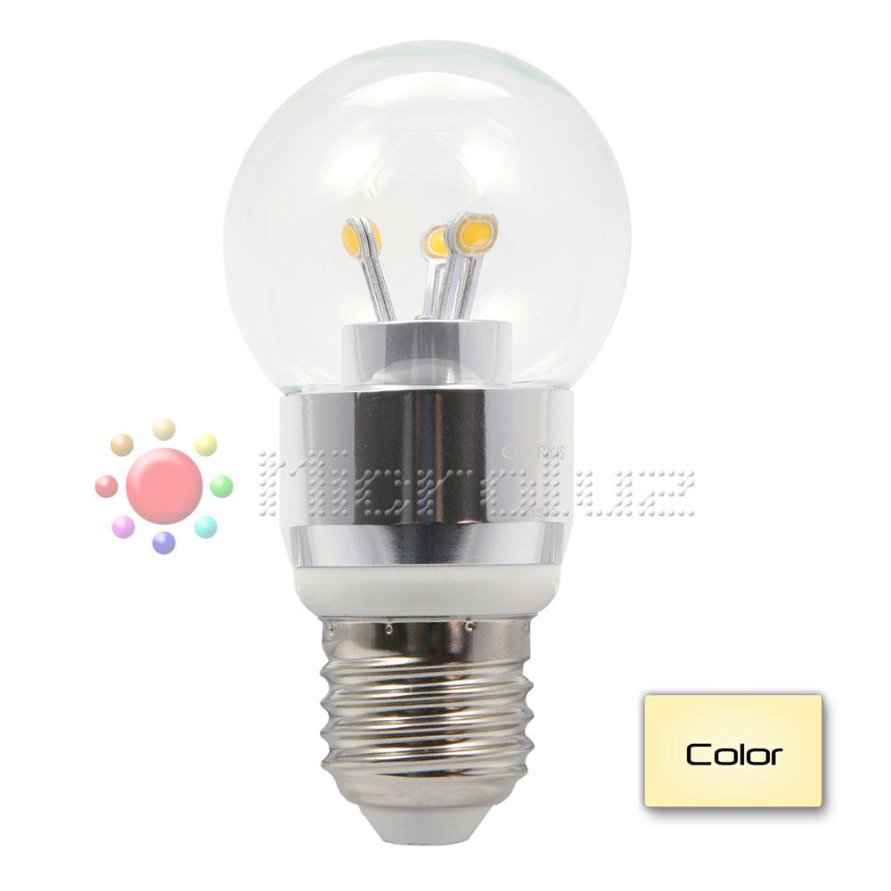Lámpara LED 4W Rosca E27 Blanco Cálido