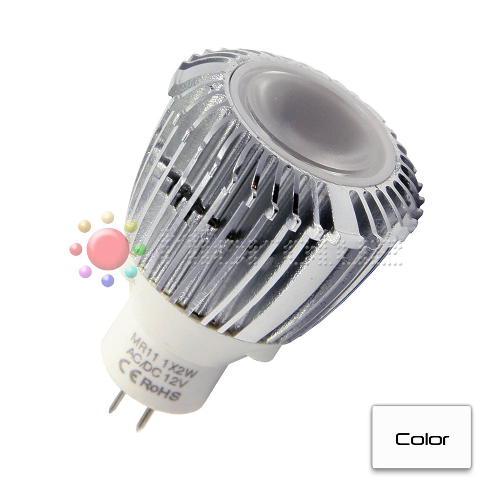 Bombilla LED Dicroica 35mm GU4.0 Blanco Puro 112lm