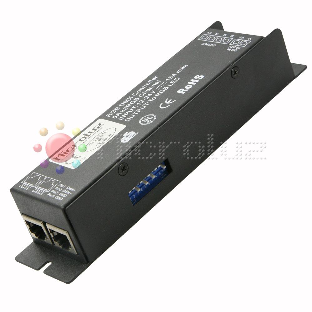Controlador LED RGB-DMX iPower DMX