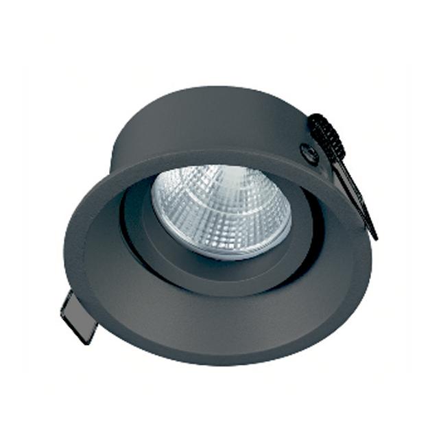 Aro DEEP circular basculante Negro