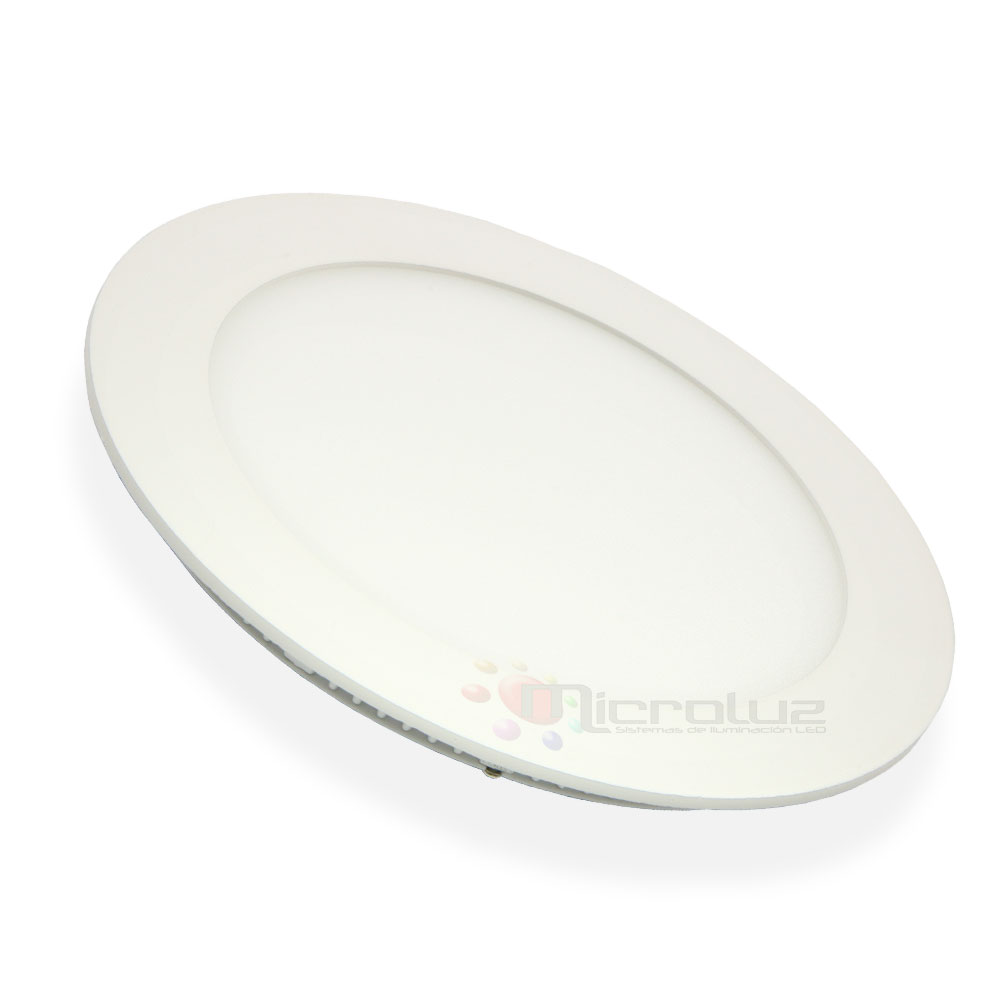 Downlight LED circular empotrable blanco frío 12W 6000K