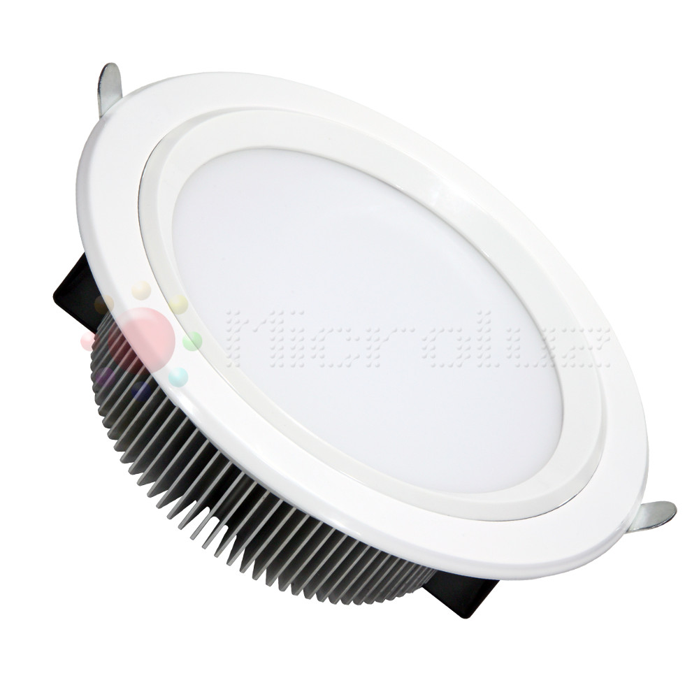 Downlight  LED Alta potencia 30W Blanco Día 2400lm