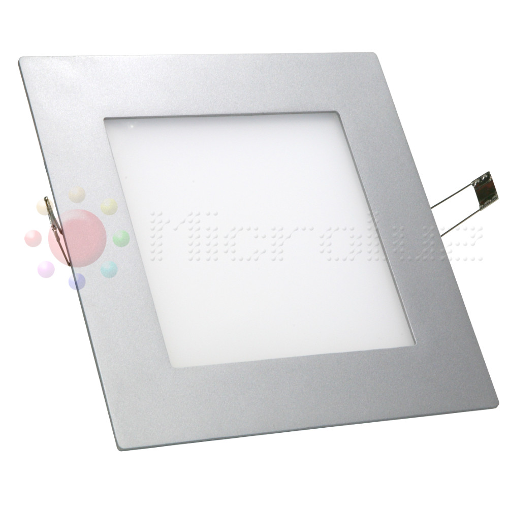 Downlight  LED extraplano cuadrado 16W Blanco Dia