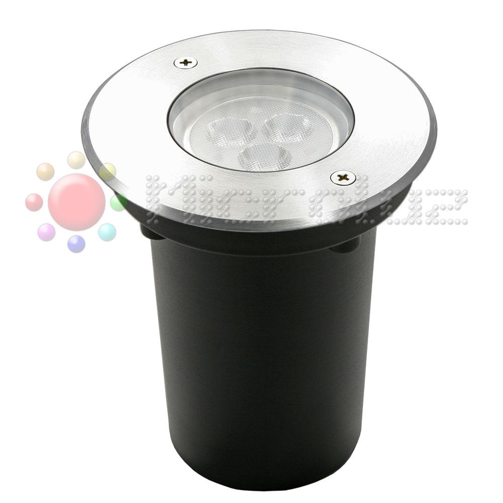 Empotrable LED RGB 3x2W lente asimétrica