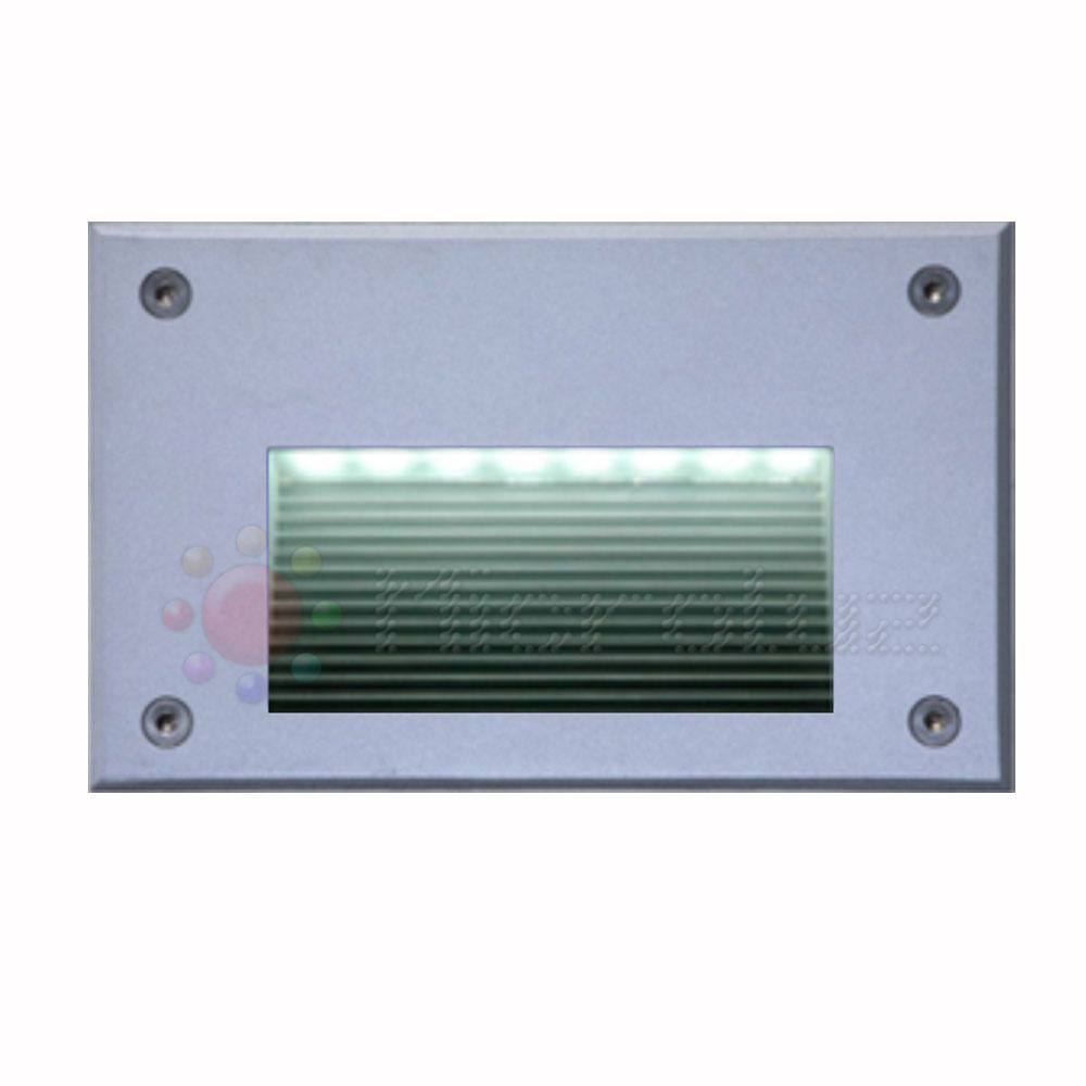 Empotrable Pared LED Blanco Puro 1.8W IP66