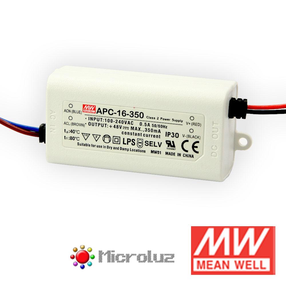 Driver corriente constante 350mA 16,8W IP67