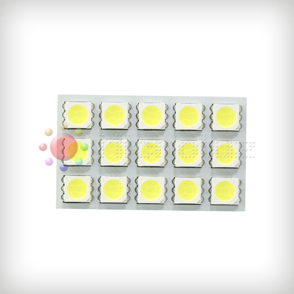 Plafón Universal 15 LED SMD5050 Blanco Xenon