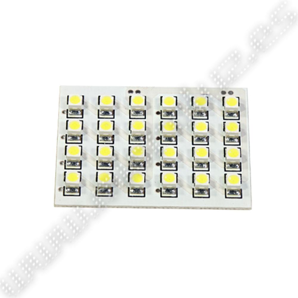 Plafón Universal 24 LED SMD35280 BLanco Xenon