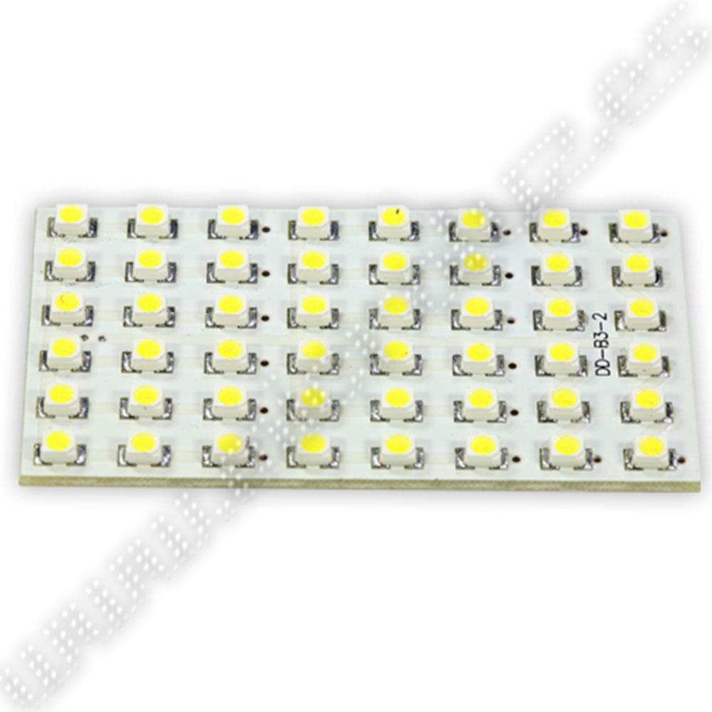 Plafón Universal 48 LED SMD3528 BLanco Xenon