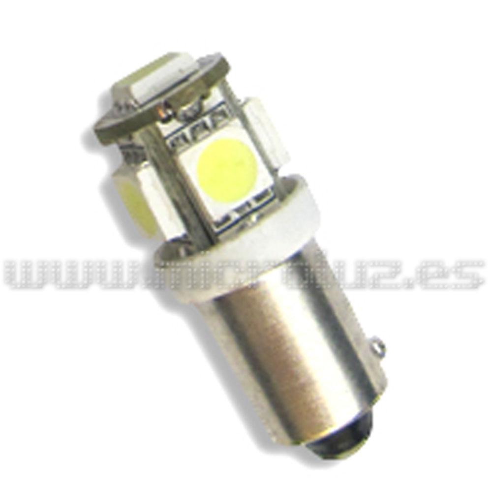 Bombilla LED BA9s 5 LED SMD 5050
