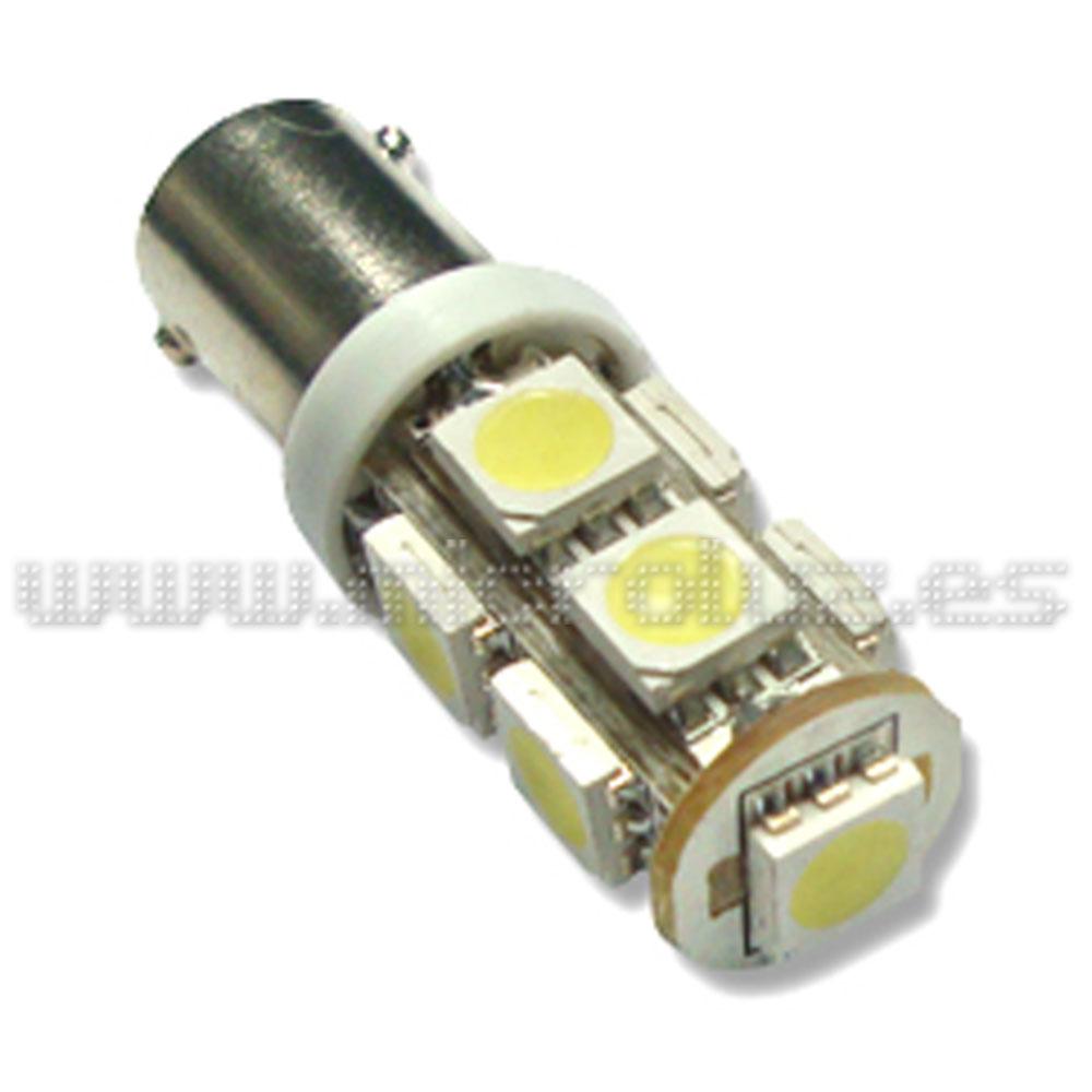 Bombilla LED BAX9s 9 LED SMD 5050