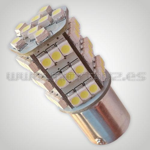Bombilla LED P21/5W 54 SMD1210 BLanco Xenon