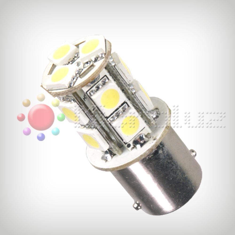 Bombilla LED P21 13 SMD5050 LEDs BLanco Xenon 2.6W