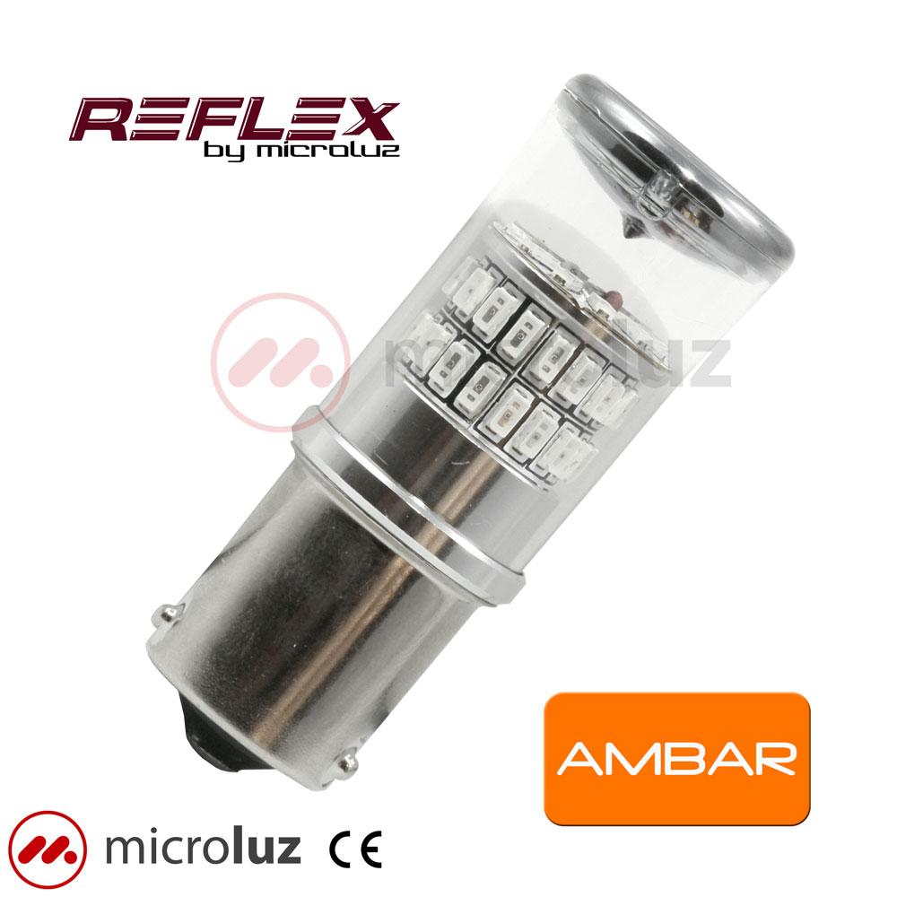Lampara LED PY21W Ambar Reflex