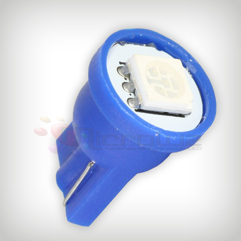 Bombilla LED coche Azul para interior 1 LED