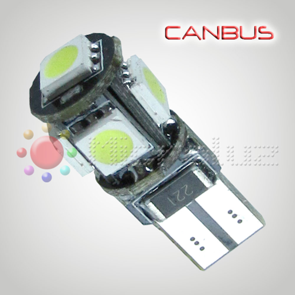 Bombilla LED 5 SMD Tower 360º Blanco Xenón Canbus