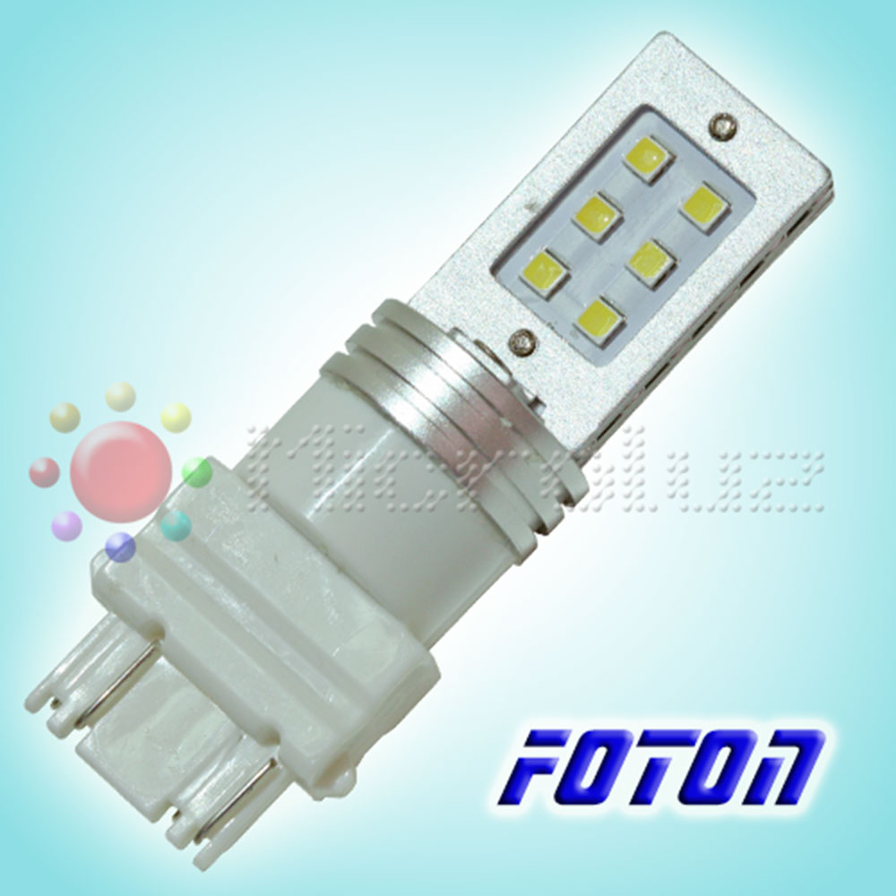 Bombilla 3157-T20 P21/5W-12 LED Samsung SMD3030 Blanco Xenon FOTON