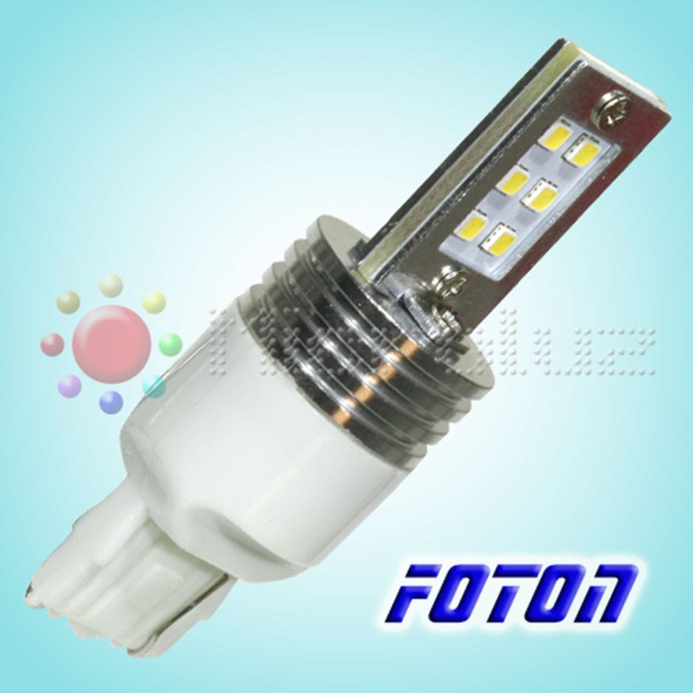 Bombilla 7443 T20-P21,5W-12 LED Samsung SMD3030 Blanco Xenon FOTON