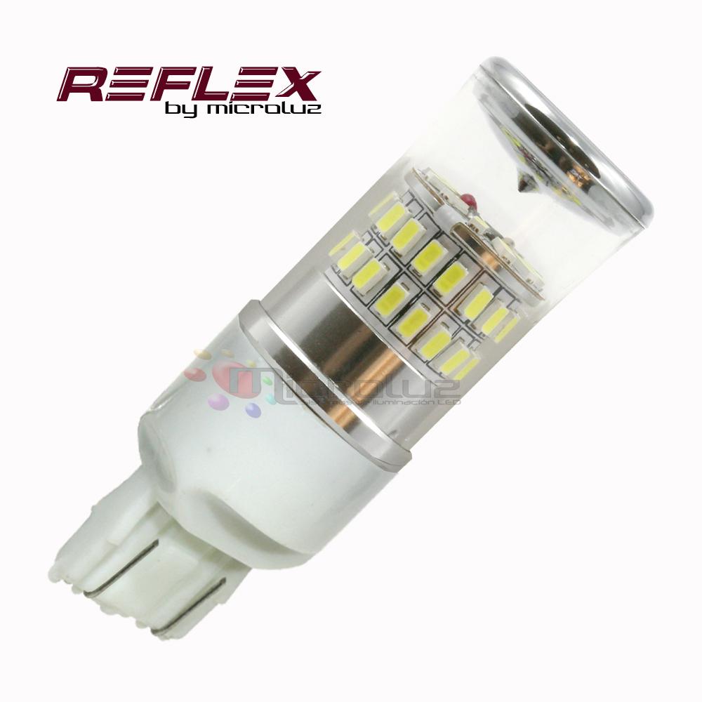 Bombilla 7443 T20-P21/5W-48 LED Samsung SMD3014 Blanco xenon REFLEX