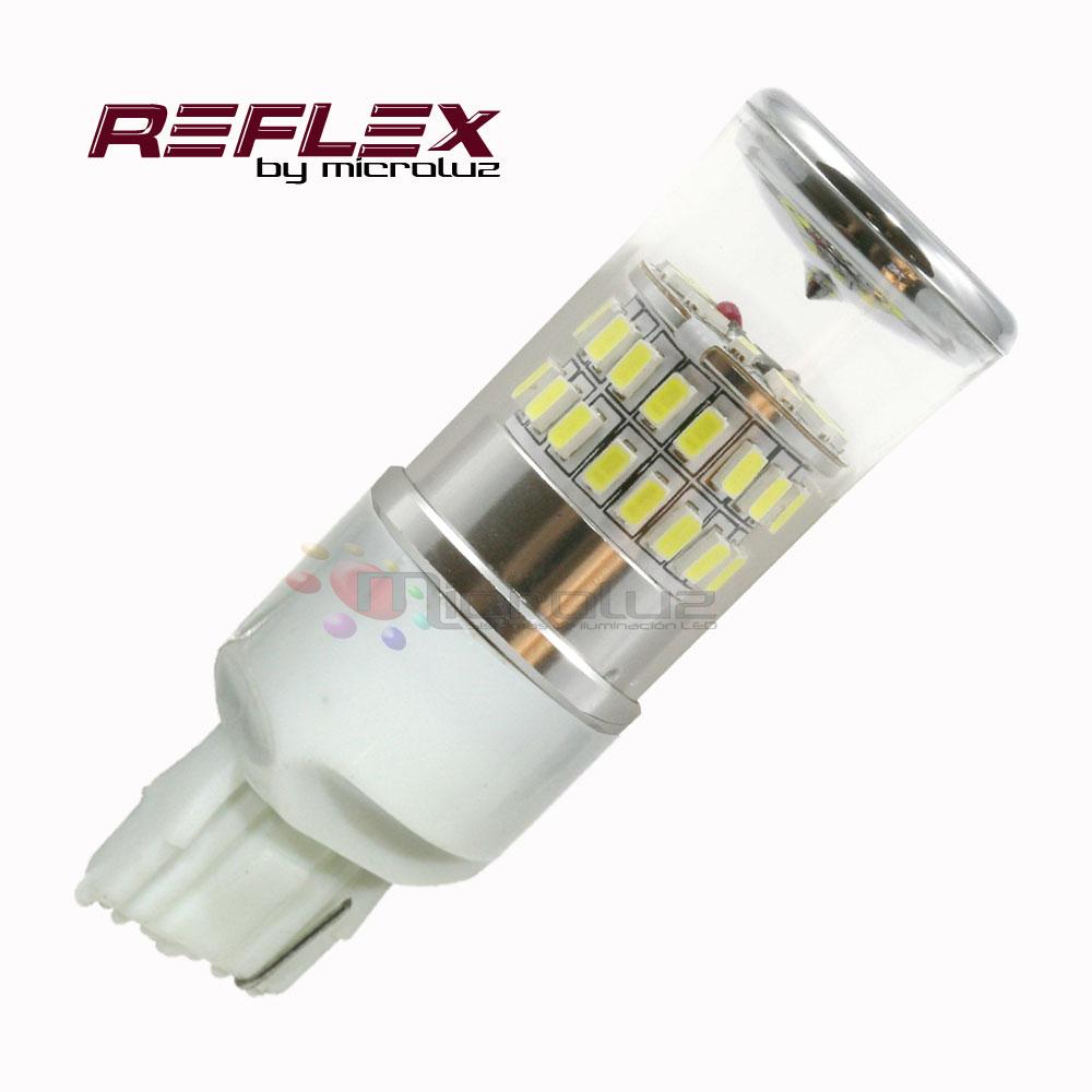 Bombilla 7440 T20-P21-48 LED Samsung SMD3014 Blanco xenon REFLEX