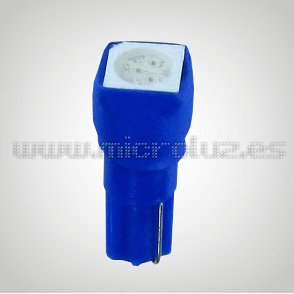 Bombilla  W1.2W 1 LED SMD Azul