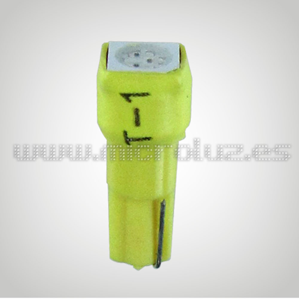 Bombilla  W1.2W 1 LED SMD Ambar
